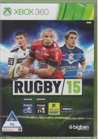 Rugby 15 (Xbox 360) - Cover