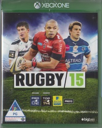 Rugby 15 (Xbox One) - Cover