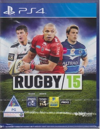 Rugby 15 (PS4) - Cover