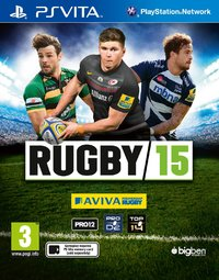 Rugby 15 (PS VITA) - Cover