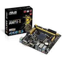 ASUS AM1I-A AM1 HDMI SATA 6Gb/s USB 3.0 Mini ITX AMD Motherboard (Open Box)