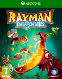Rayman Legends (Xbox One) - Cover