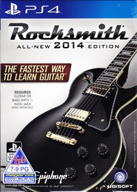 Rocksmith 2014 (PS4) - Cover