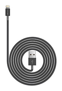Kanex Lightning - USB Cable 1.2m - Black - Cover