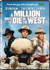 A Million Ways To Die In The West (DVD) Cover
