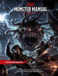 Dungeons & Dragons - Monster Manual (Role Playing Game) - Cover