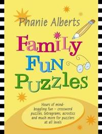 Family Fun Puzzles 3 - Phanie Alberts (Paperback) - Cover