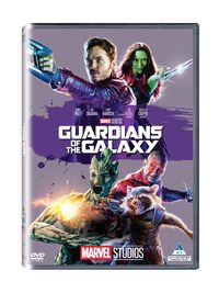 Guardians Of The Galaxy (DVD) - Cover