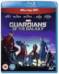 Guardians Of The Galaxy (3D Blu-ray) - Cover