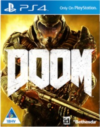 DOOM (PS4) - Cover
