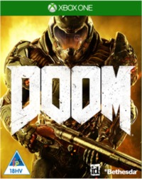 DOOM (Xbox One) - Cover