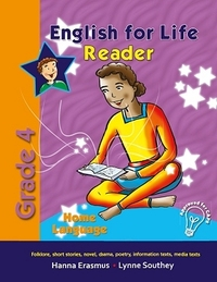 English For Life Grade 4 Home Language Reader - Hanna Erasmus (Paperback) - Cover