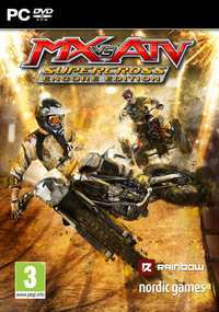 MX Vs ATV: Alive Plus Supercross (PC) - Cover