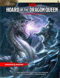 Dungeons & Dragons - Hoard of the Dragon Queen (Role Playing Game) - Cover