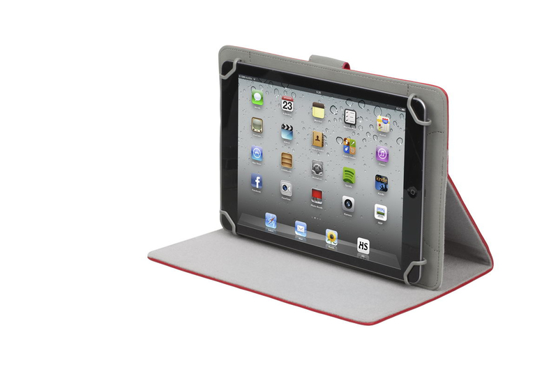 rivacase 3017 tablet case 10 1 inch   red   electronics
