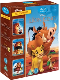 The Lion King 1-3 Box Set (Blu-ray) - Cover