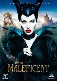 Maleficent (DVD) - Cover