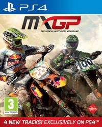 MXGP: The Official Motocross Videogame (PS4) - Cover