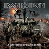 Iron Maiden - A Matter of Life and Death (CD) Cover
