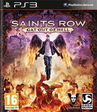 Saints Row: Gat Out of Hell (PS3) - Cover