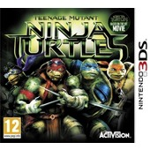 Teenage Mutant Ninja Turtles The Movie (3DS) - Cover