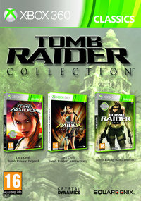 Tomb Raider Collection (Xbox 360) - Cover