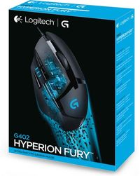 Logitech G402 Hyperion USB Gaming Mouse - Cover