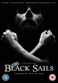 Black Sails: Complete Series One (DVD) - Cover