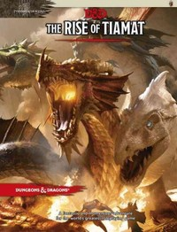 Dungeons & Dragons - The Rise of Tiamat (Role Playing Game) - Cover
