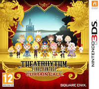 Theatrhythm Final Fantasy: Curtain Call (3DS) - Cover