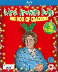 Mrs Brown's Boys: Christmas Specials 2011-2013 (Blu-ray) - Cover