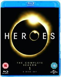 Heroes: Season 1 (Blu-ray) - Cover
