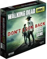 Walking Dead TV Series Don't Look Back Dice Game - Cryptozoic Entertainment (Game) - Cover