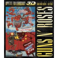 Guns N' Roses - Appetite For Democracy: Live At Hard Rock (3D Blu-ray)
