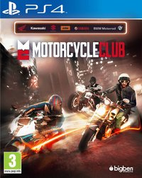 Motorcycle Club (PS4) - Cover