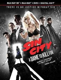 Sin City:Dame to Kill For 3D (Region A Blu-ray) - Cover