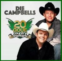 Die Campbells - 20 Goue Country Treffers (CD) - Cover