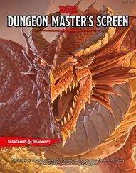 Dungeons & Dragons - Dungeon Master's Screen (Role Playing Game) - Cover