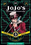 JoJo's Bizarre Adventure Part 1 Phantom Blood Vol. 02 - Hirohiko Araki (Hardcover)