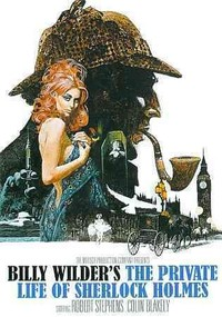 Private Life of Sherlock Holmes (1970) (Region 1 DVD) - Cover