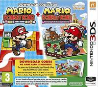 Mario and Donkey Kong: Minis On The Move &  Mario vs Donkey Kong: Minis March Again (3DS) - Cover