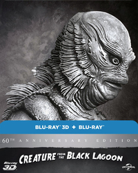 Creature from the Black Lagoon (Blu-ray) - Cover