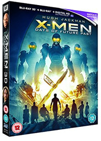 X-Men: Days of Future Past (Blu-ray) - Cover