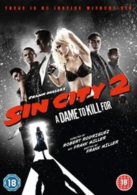 Sin City 2 - A Dame to Kill For (DVD) - Cover