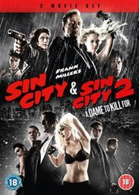 Sin City/Sin City 2 - A Dame to Kill For (DVD) - Cover