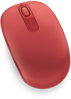 Microsoft Wireless Mobile Mouse 1850 - Red