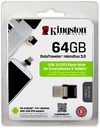 Kingston Technology - 64GB microDuo USB 3.0 Flash Drive