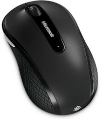 Microsoft Wireless Mobile 4000 Mouse Black - Retail pack - Cover