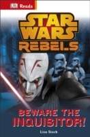 Star Wars Rebels Beware the Inquisitor - Lisa Stock (Hardcover) - Cover