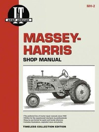 Massey-Harris Shop Manual - Inc. Haynes North America (Paperback) - Cover